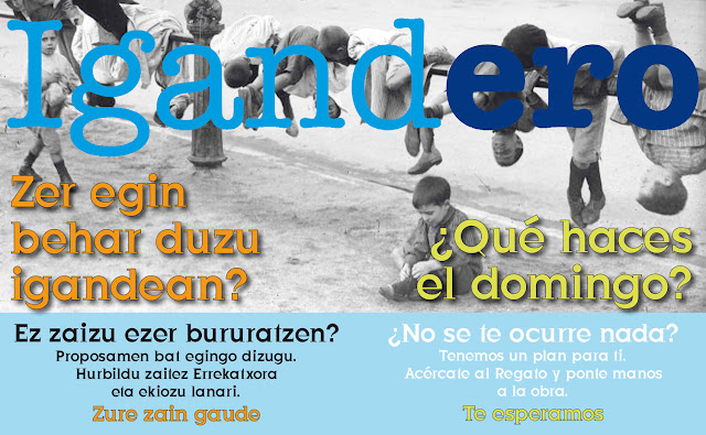 Cartel del programa de talleres infantiles IgandERO