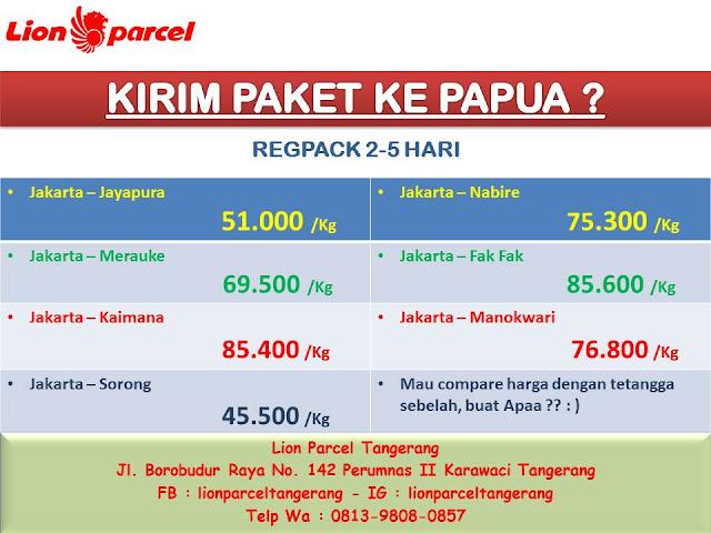 Ongkos Kirim Paket Tangerang ke Jawa Barat