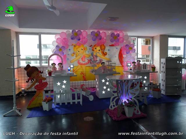 Decoração tema Bailarinas para Chá de Bebê