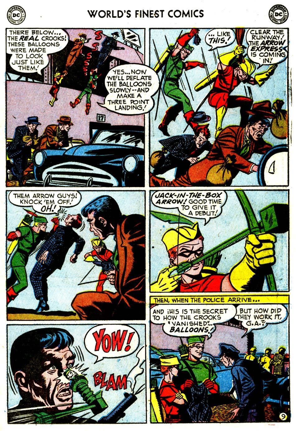 Read online World's Finest Comics comic -  Issue #68 - 35