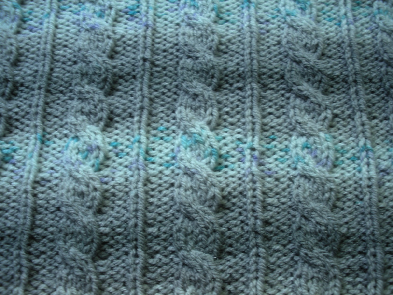 Yarn In, Yarn Out: Free Pattern: Able Cable Blanket