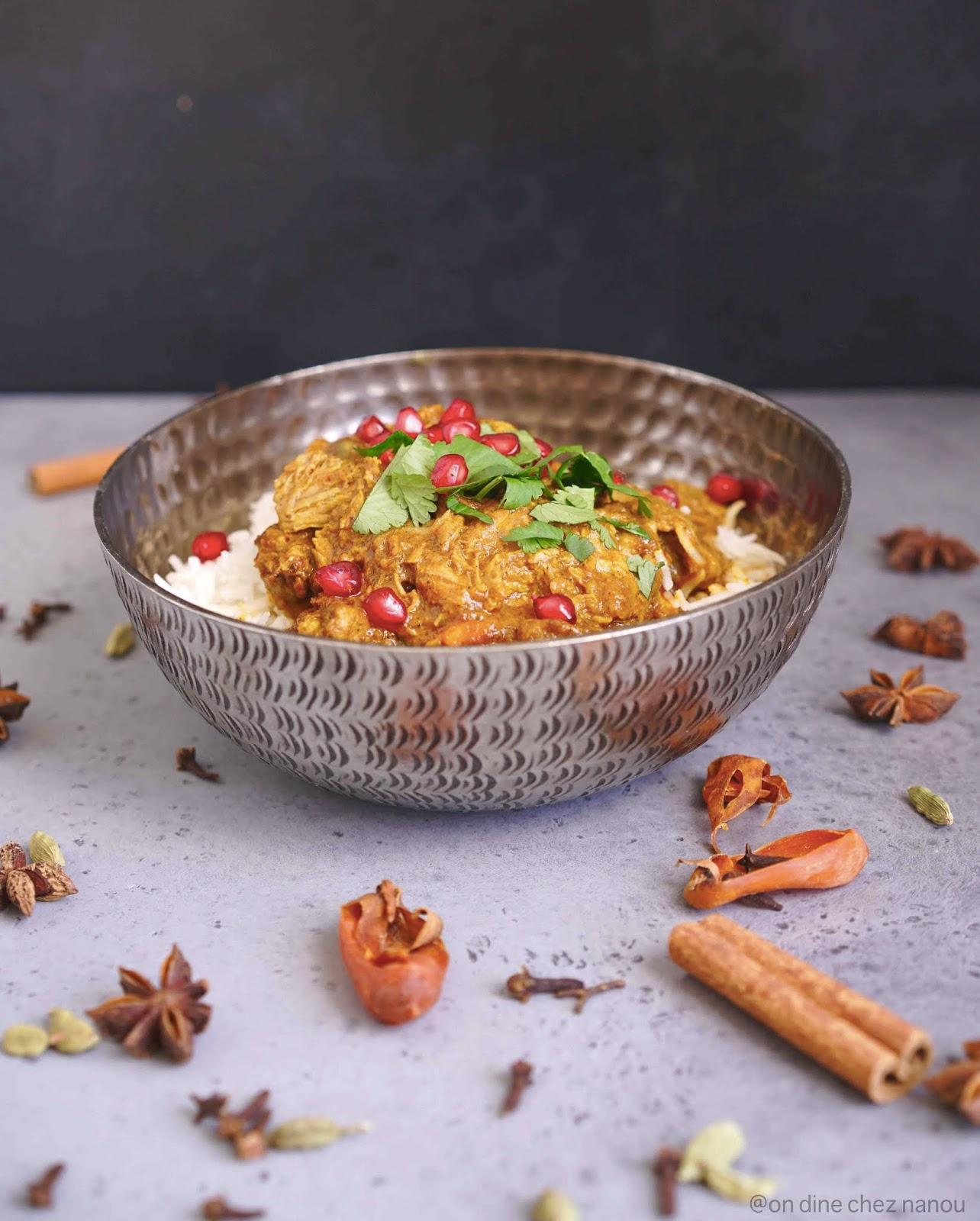 agneau , plat de viande indien , épices , plat coloré , savoureux
