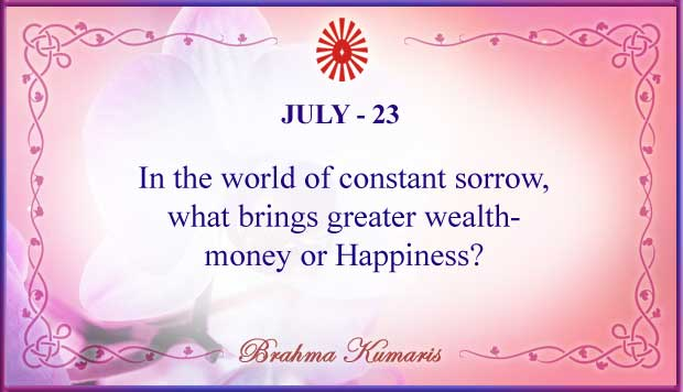 Thought For The Day July 23