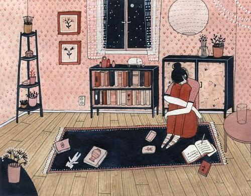 art by Yelena Bryksenkova   creative emotional illustration art drawings, pictures, deep feelings, sad   imagenes bellas, emociones sentimientos, depresion.