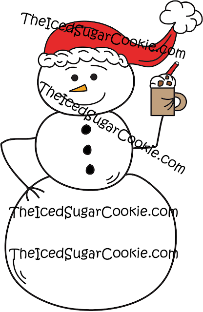 Commercial Use Christmas Graphics, Illustrations, Cartoons, Hand Drawn, Machine Embroidery Clipart