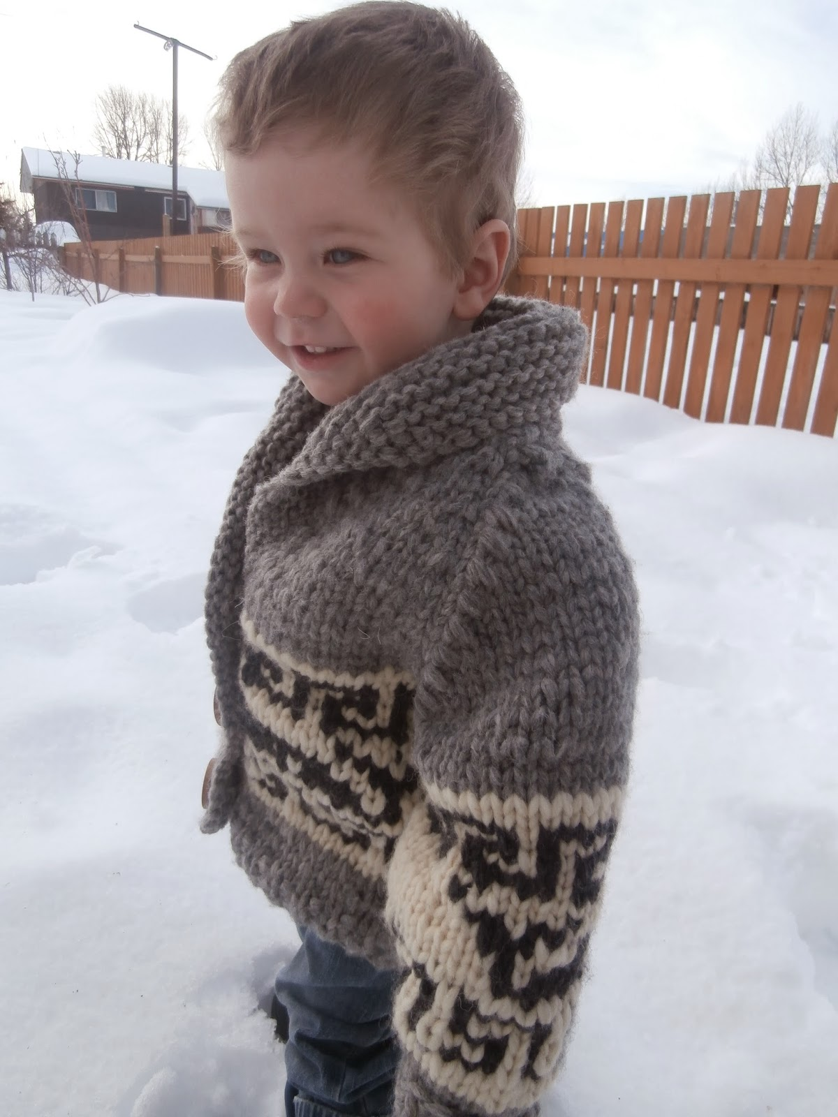 3aede449b479 Honey Nutbrown s  Knitting!  Northern Whale Cowichan Sweater ...
