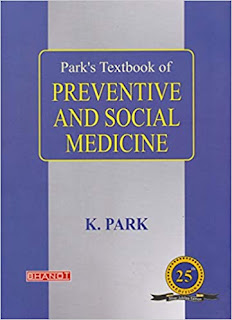 Park's Textbook of Preventive and Social Medicine - Latest 25th Edition - 2020 pdf free download
