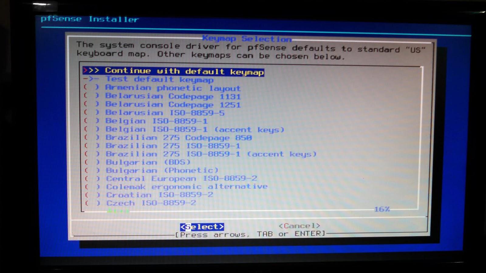 instalar pfsense Configuracion LAN y WAN | Cosas de WISP