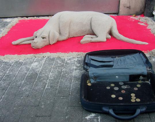 Image result for sand dog street art