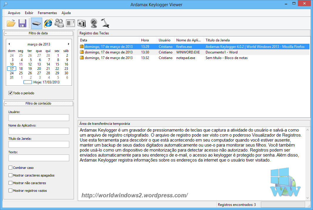 Ardamax Keylogger 4 2 With (Crack+Serial Keys) Free Download