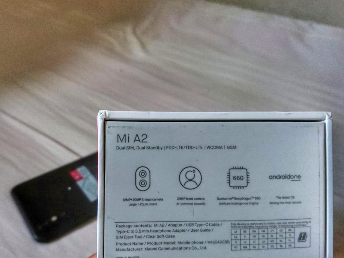 smartphone ini juga termasuk dalam kegiatan Android One Review Xiaomi Mi A2 OREO Sebelum Update ke PIE