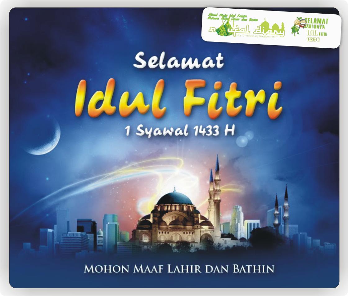 SMS Ucapan Selamat Idul Fitri 2012.