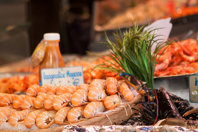 Mercato di rue Mautauffard-Parigi