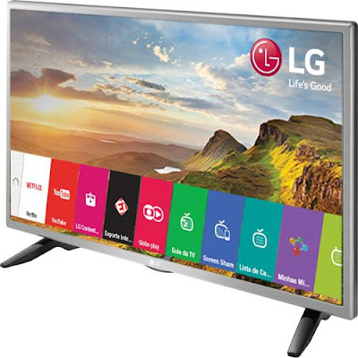 "Smart TV LED 32"" LG 32LH570B"