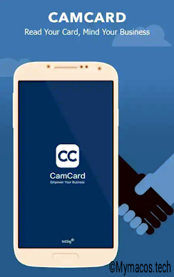 Camcard business card scanner for small business