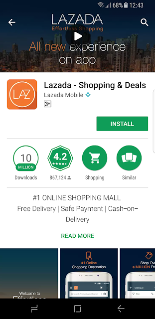 How Convenient to Shop with Lazada Apps and MOLPay Cash at 7 Eleven.