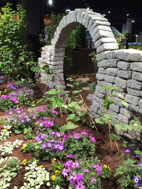 Incredible Stone Archway from the Boston Flower & Garden Show 2017