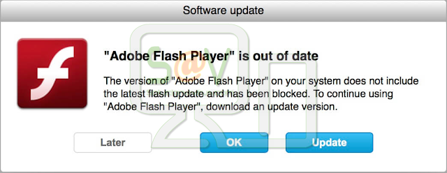 Toptypealwaysappclicks.icu (Actualización falsa de Adobe Flash Player)