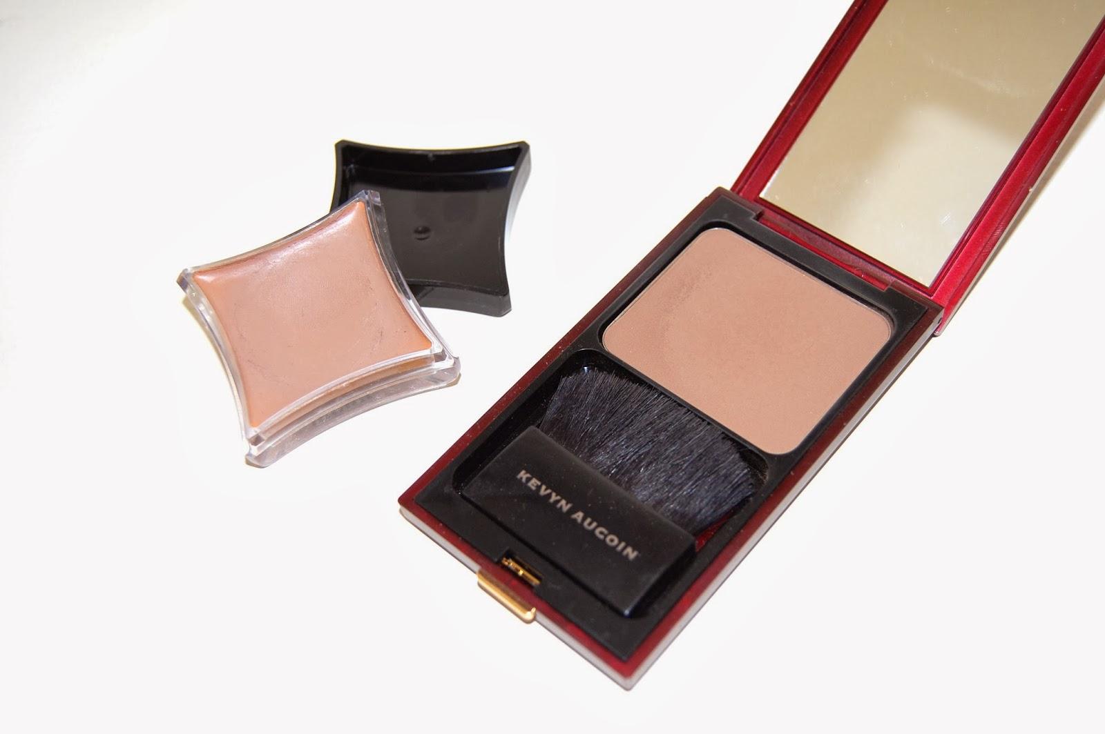 chelsea wears pale skin contour products illamasqua cream pigment
