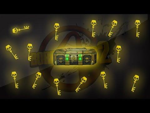 邊緣禁地2 (Borderlands 2) 快速獲得99金鑰匙密技和PromotionalUnlocks方法及金箱子位置