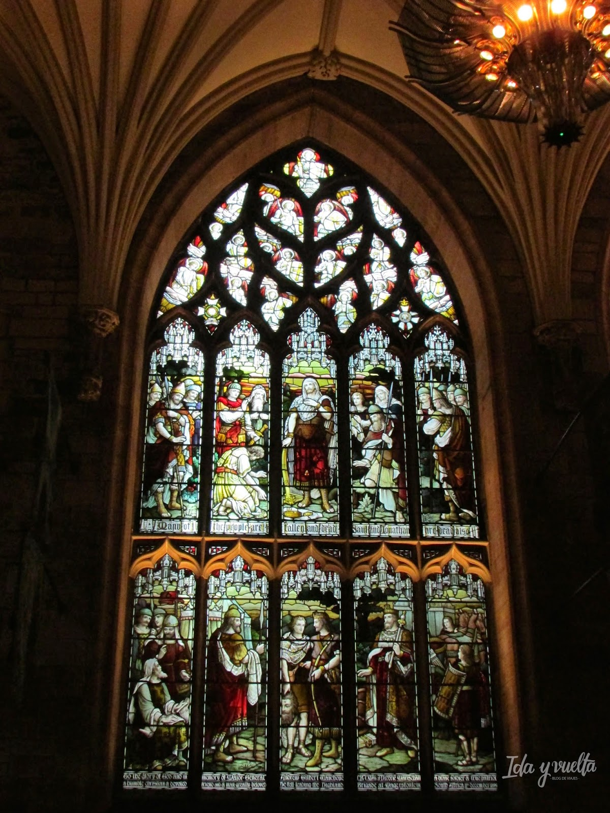 Vidriera de St. Giles