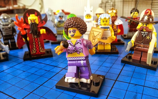 LEGO Minifigures series 13 Disco Sue