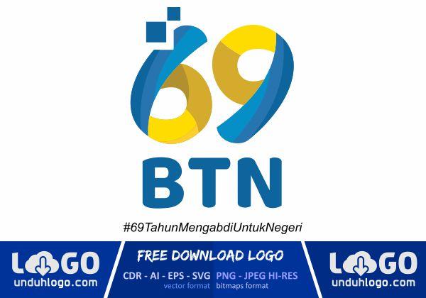 Logo HUT Bank BTN 89 Tahun
