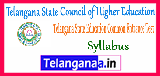 TS Ed.CET Syllabus 2018 Sample Model Previous Solved Papers