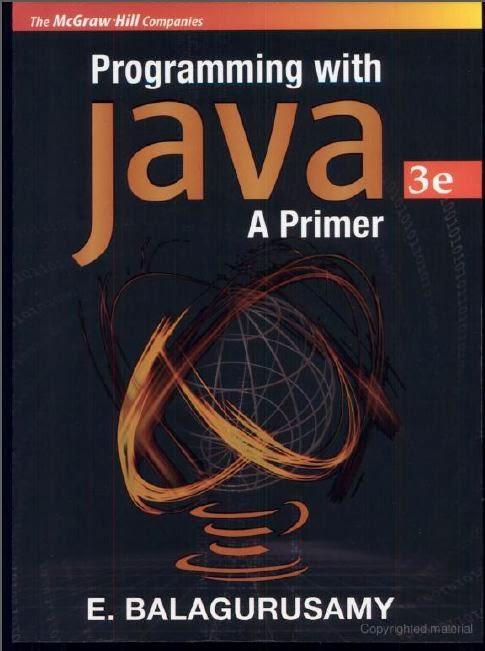 Balaguruswamy Java Pdf