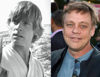 Prominente Menschen - Damals und heute lustig - Star Wars