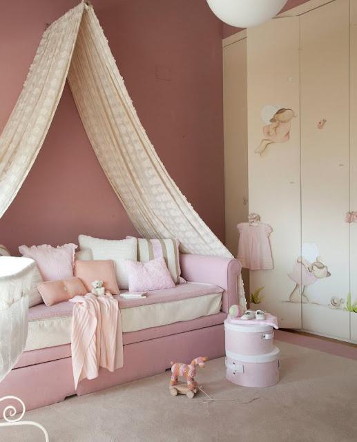 habitacion infantil para niña