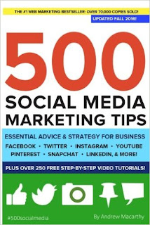 SMO Book for Beginners 500 Social Media Marketing Tips- Andrew Macarthy