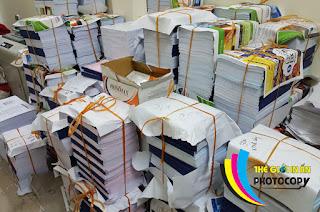Sử dụng giấy trong máy photocopy