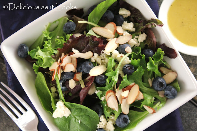 Blue Bleu Salad With Dijon Vinaigrette Delicious As It Looks