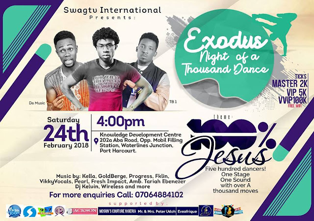 SwagTV International Presents: Exodus Night Of Thousand Dance