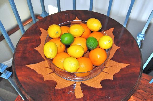 thanksgiving table setting decor ideas fruit vegetables dinner