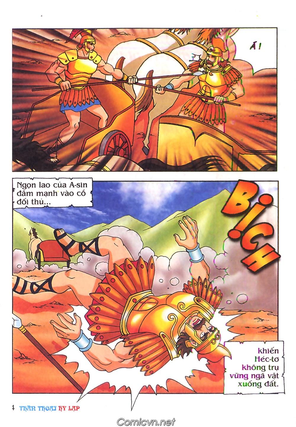 Thần Thoại Hy Lạp Màu - Chapter 62: Hector tử trận - Pic 4