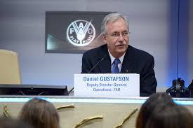 Daniel Gustafson, Director General Adjunto de la FAO