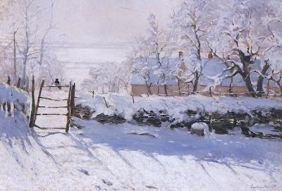 Клод Моне Сорока 1868-1869 гг.