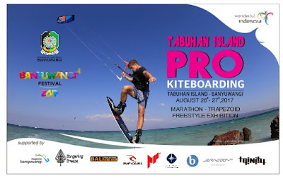 International Kite and Wind Surfing Competition 2017 di Banyuwangi.