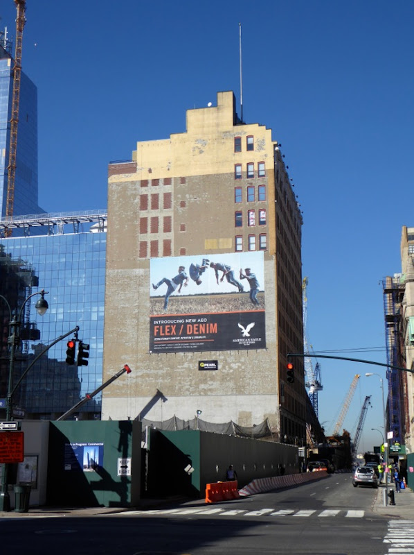 AEO Flex Denim billboard New York
