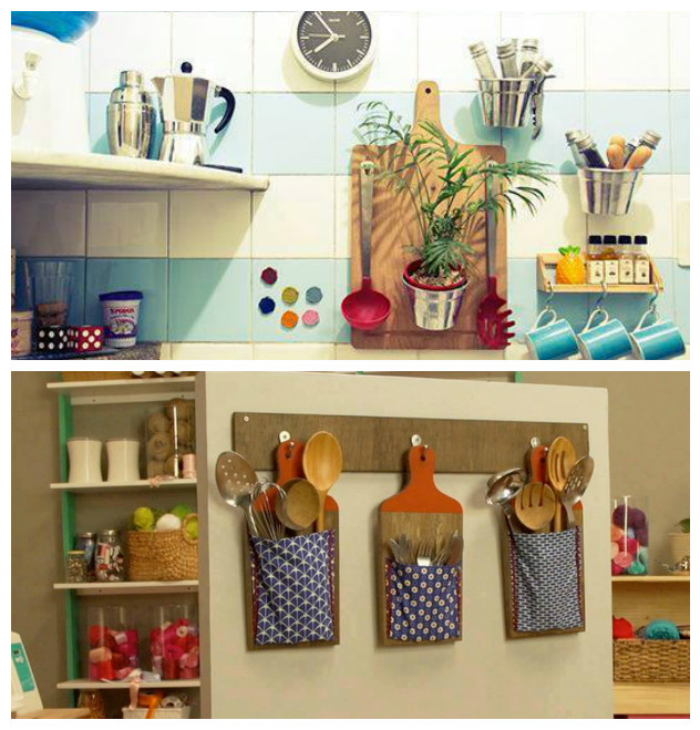 12 ideas creativas para hacer manualidades con tablas de for Como armar mi cocina