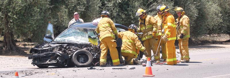 tulare county highway 137 crash george franks visalia frank smith lindsay
