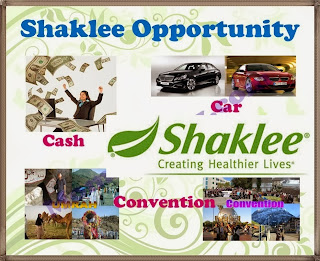 cash with shaklee