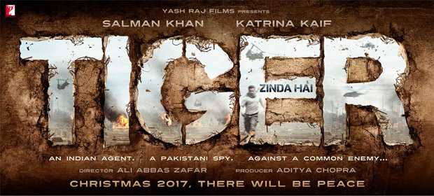 Tiger Zinda Hai first look, Poster of Salman Khan, Kartina Kaif download first look Poster, release date