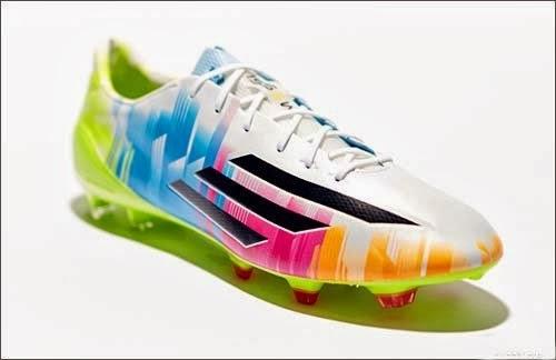 Newest adidas F50 adizero Lionel Messi with colorful 075b67687b946