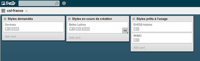 Aperçu du site CSL francophone