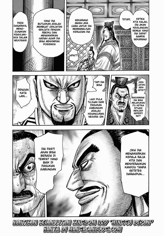 Baca Komik Manga Kingdom Chapter 326 Komik Station