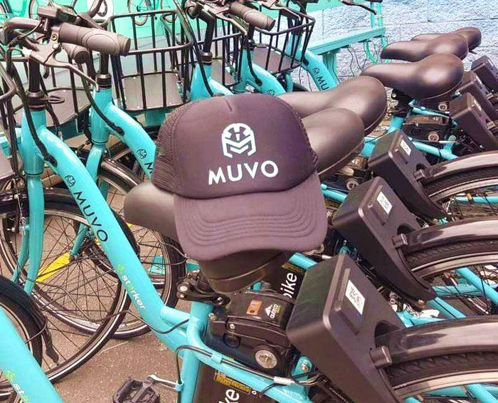 Muvo alquiler bici electricas en Bogota Colombia
