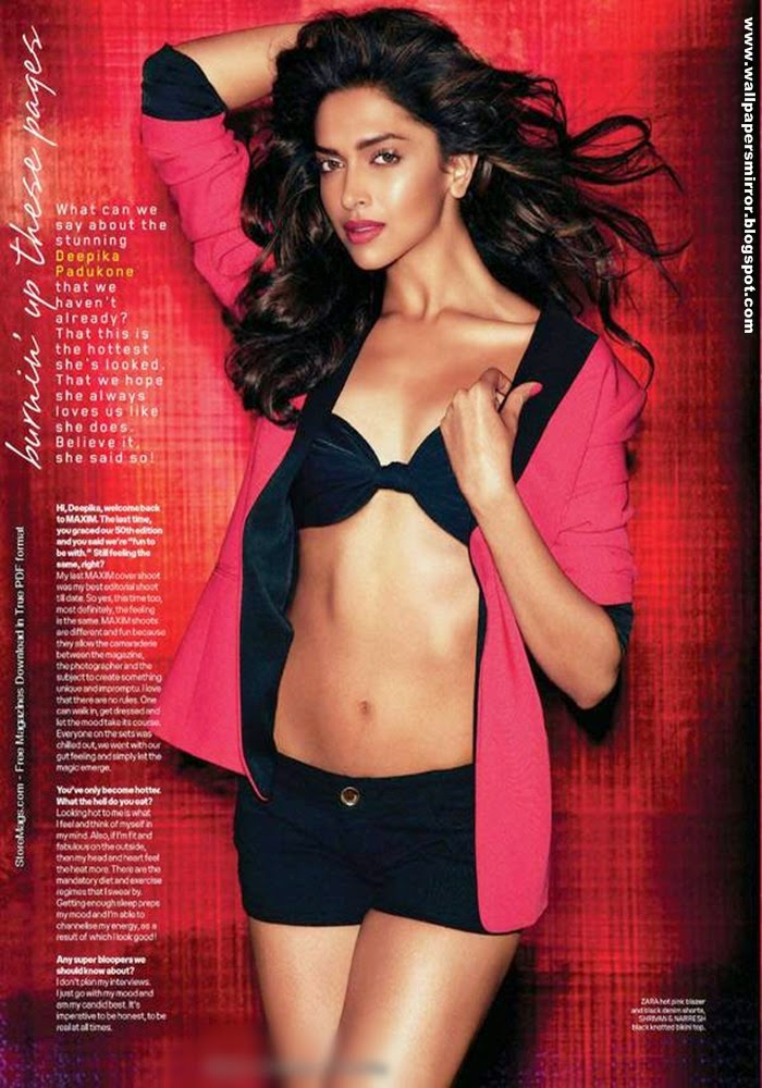 Deepika Padukone Hot Navel Hd Wallpapers